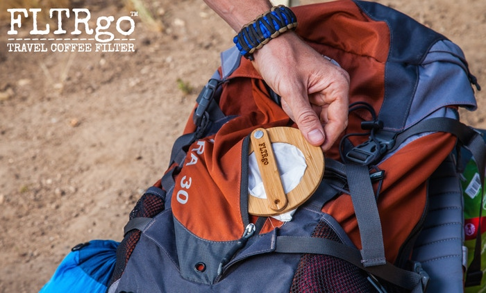 FLTRgo Travel Coffee Filter Backpack
